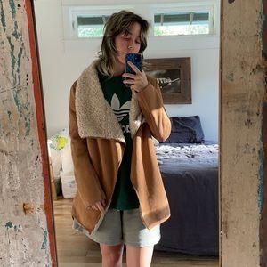 Vintage style 70s Suede Penny Lane Coat